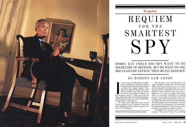 Article Preview: Requiem for the Smartest Spy, April 1994 | Esquire