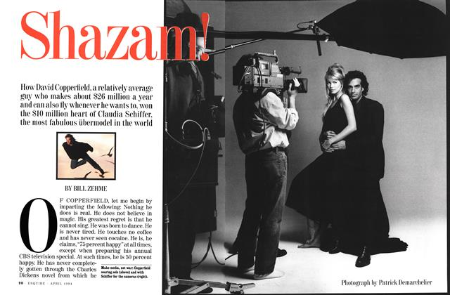Article Preview: Shazam!, APRIL 1994 1994 | Esquire