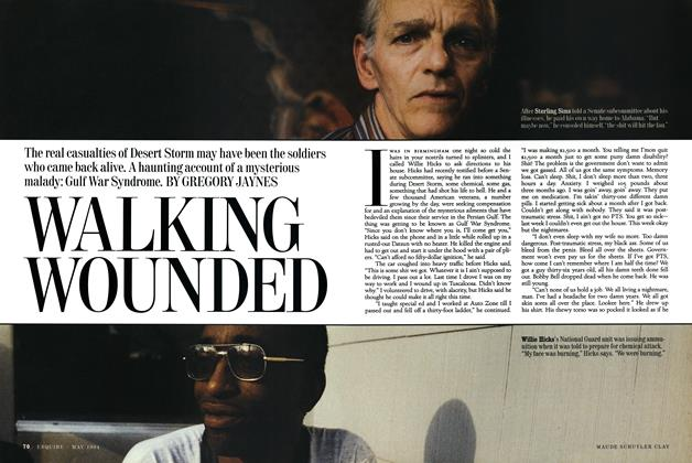 Article Preview: Walking Wounded, MAY 1994 1994 | Esquire