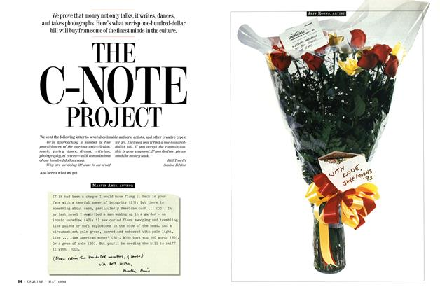 Article Preview: The C-note Project, May 1994 | Esquire
