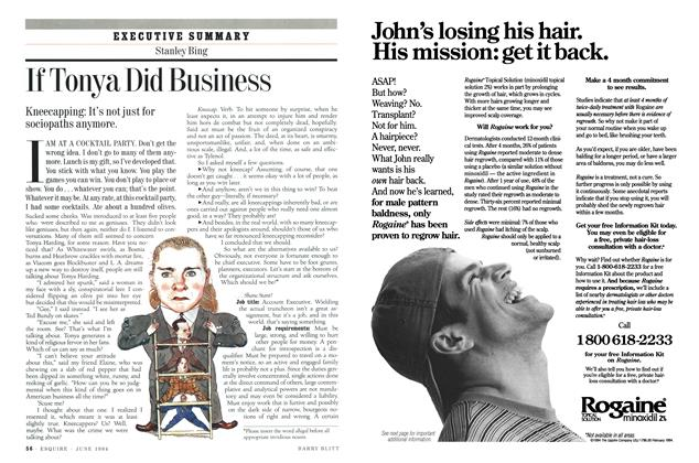 Article Preview: If Tonya Did Business, JUNE 1994 1994 | Esquire