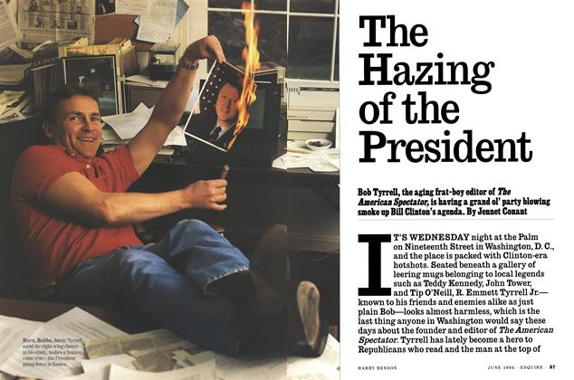 Article Preview: The Hazing of the President, JUNE 1994 1994 | Esquire