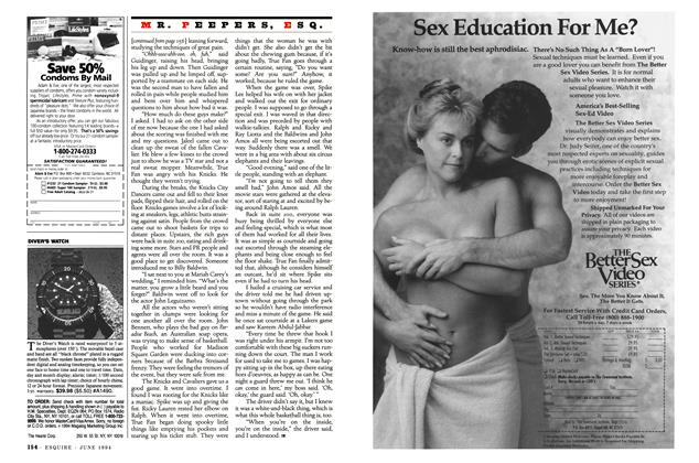 Article Preview: In the Hot Seats, JUNE 1994 1994 | Esquire
