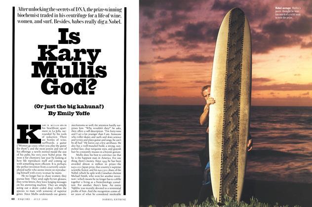 Is Kary Mullis God? (or Just the Big Kahuna?)