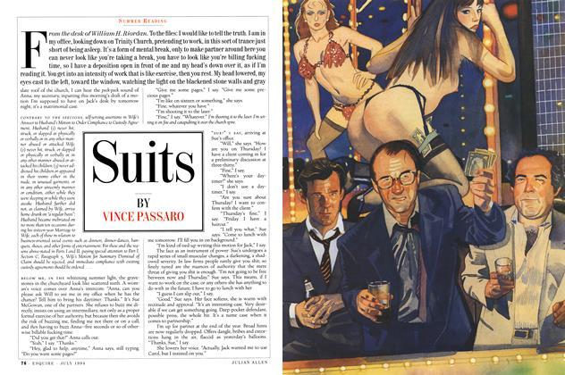 Article Preview: Suits, July 1994 | Esquire