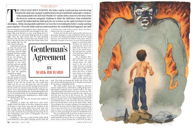 Article Preview: Gentleman's Agreement, JULY 1994 1994 | Esquire