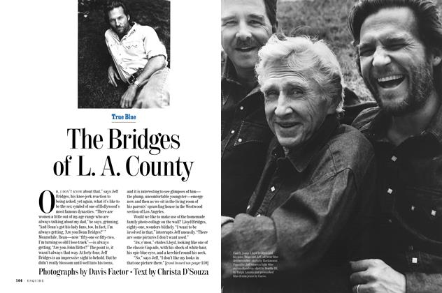 Article Preview: The Bridges of L. A. County, JULY 1994 1994 | Esquire