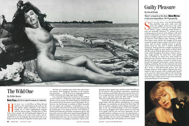 Article Preview: Guilty Pleasure, AUGUST 1994 1994 | Esquire