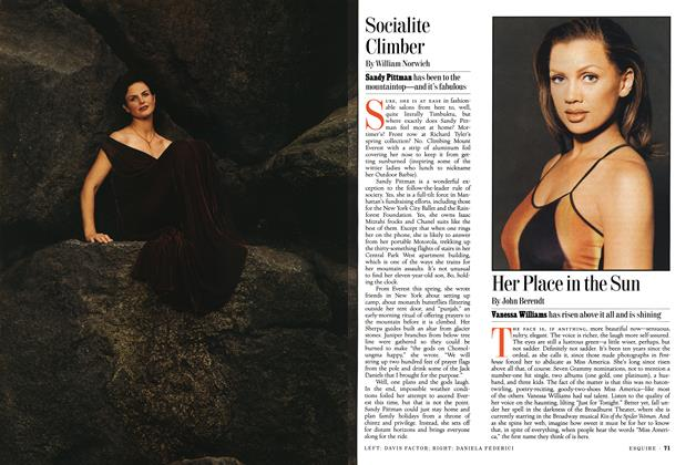 Article Preview: Socialite Climber, AUGUST 1994 1994 | Esquire