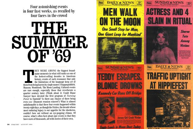 Article Preview: The Summer of '69, August 1994 | Esquire