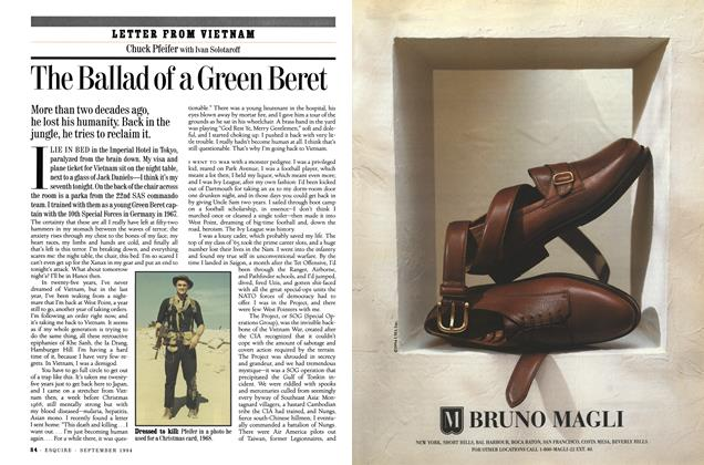 Article Preview: The Ballad of a Green Beret, September 1994 | Esquire