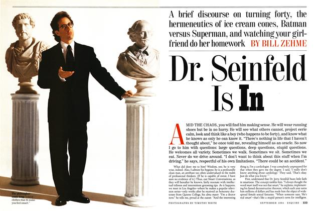 Article Preview: Dr. Seinfeld Is In, September 1994 | Esquire