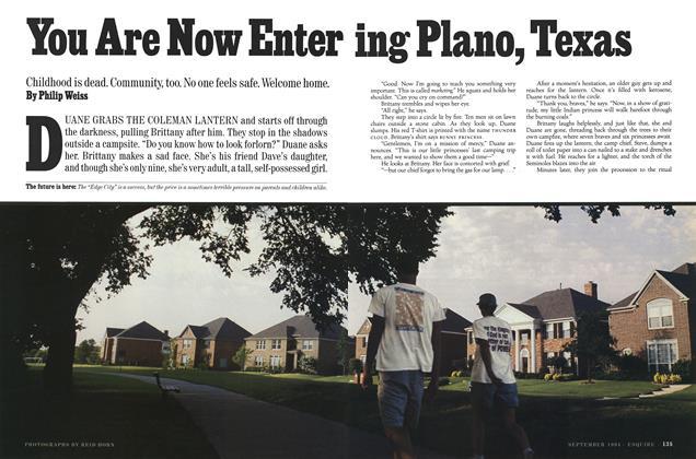 You Are Now Entering Plano, Texas