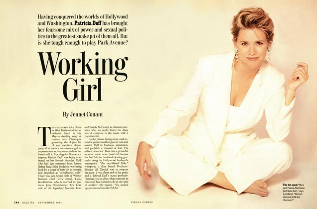 Article Preview: Working Girl, SEPTEMBER 1994 1994 | Esquire