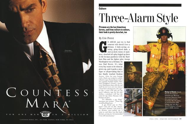 Article Preview: Three-Alarm Style, Fall 1994 | Esquire