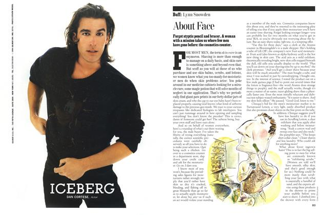 Article Preview: About Face, Fall 1994 1994   Esquire