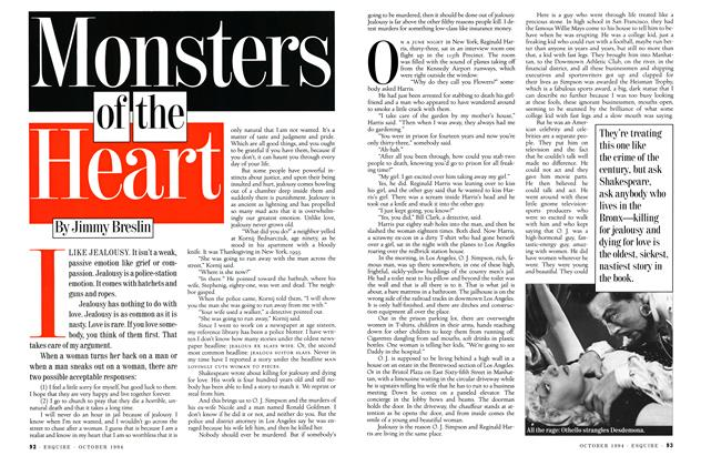 Article Preview: Monsters of the Heart, OCTOBER 1994 1994 | Esquire