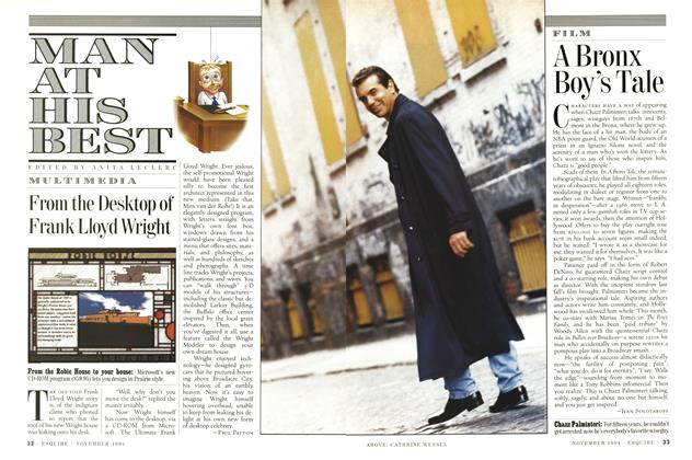 Article Preview: A Bronx Boy's Tale, November 1994 | Esquire