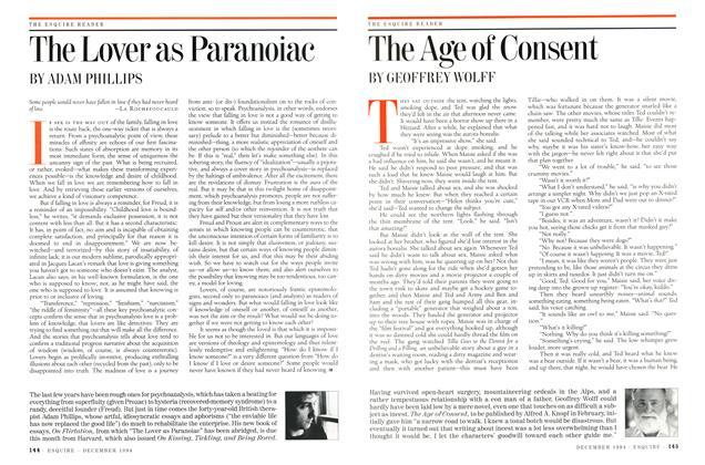 The Lover as Paranoiac