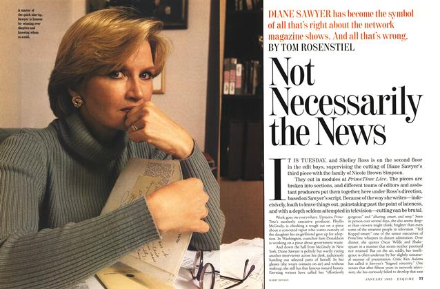 Article Preview: Not Necessarily the News, January 1995 | Esquire