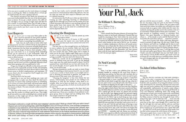 Article Preview: Your Pal, Jack, JANUARY 1995 1995 | Esquire