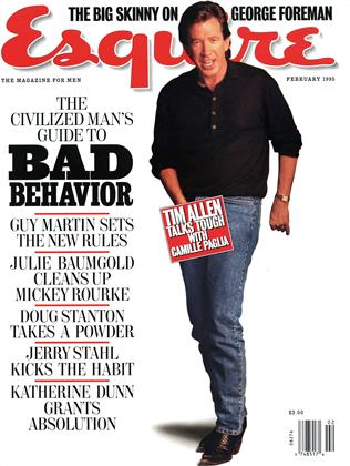 Cover for the February 1995 issue