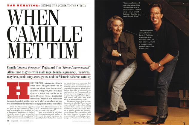 Article Preview: When Camille Met Tim, FEBRUARY 1995 1995 | Esquire