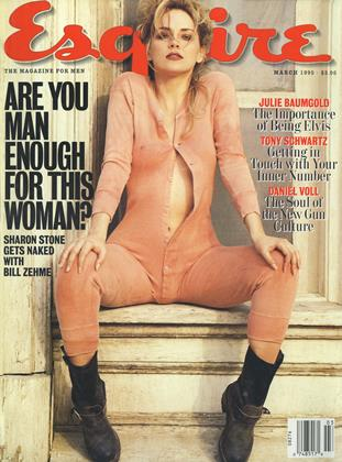 Cover for the March 1995 issue