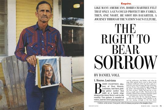 The Right to Bear Sorrow - March   Esquire