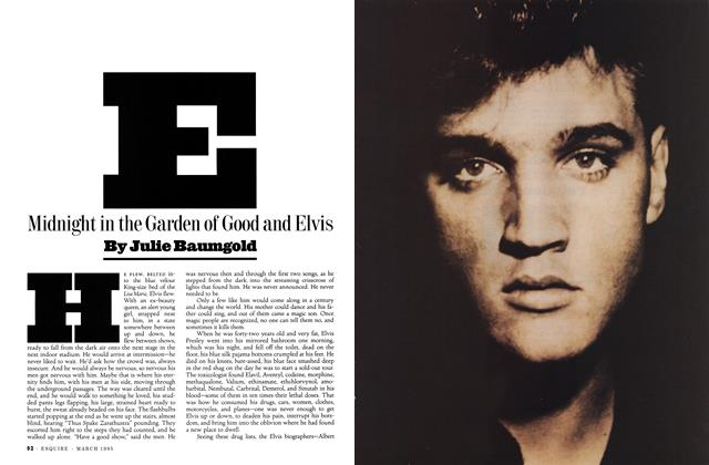 Midnight in the Garden of Good and Elvis