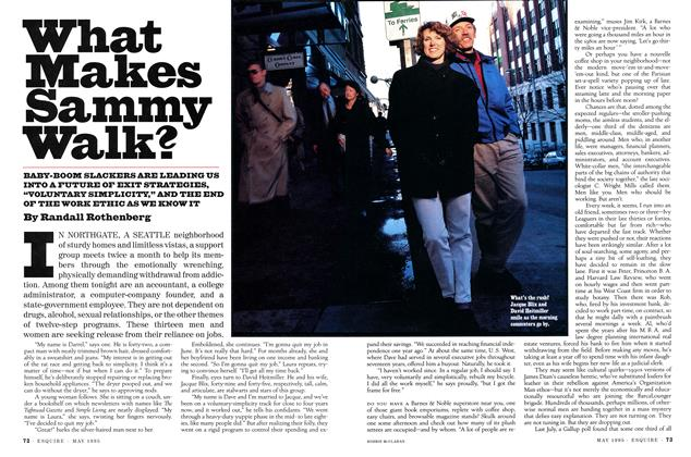 Article Preview: What Makes Sammy Walk?, MAY 1995 1995 | Esquire