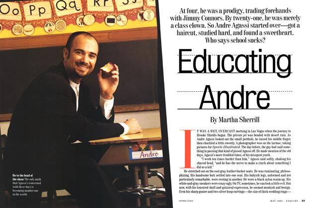 Article Preview: Educating Andre, May 1995 | Esquire