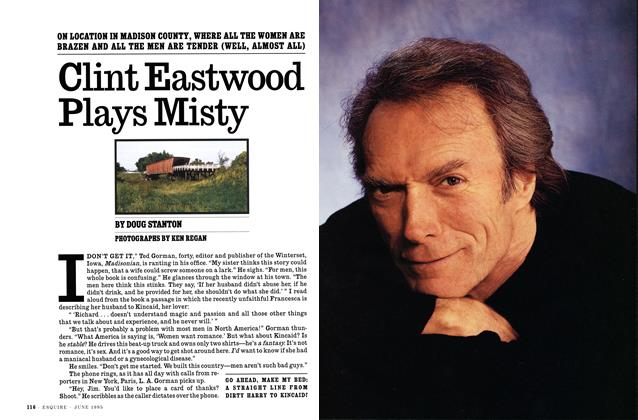 Article Preview: Clint Eastwood Plays Misty, JUNE 1995 1995 | Esquire