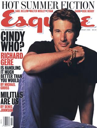 Cover for the July 1995 issue