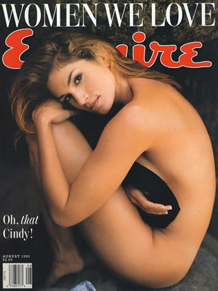 Cover for the August 1995 issue
