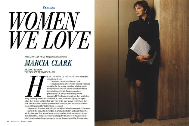 Article Preview: Marcia Clark, AUGUST 1995 1995 | Esquire