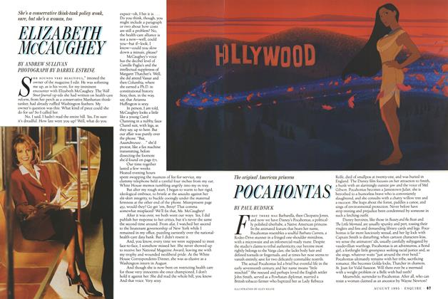 Article Preview: Pocahontas, AUGUST 1995 1995 | Esquire