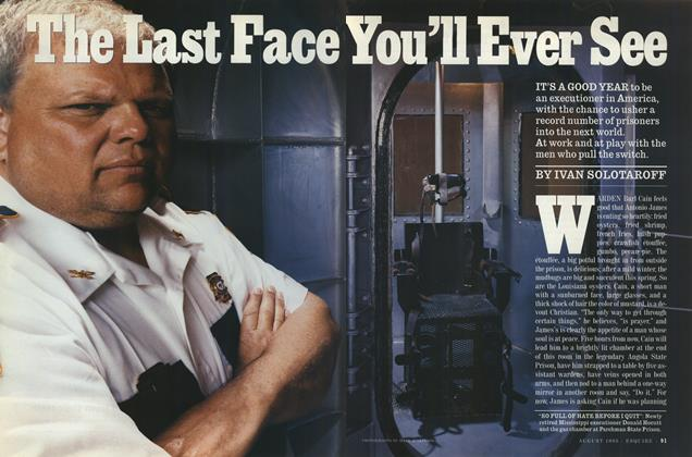 Article Preview: The Last Face You'll Ever See, August 1995 | Esquire