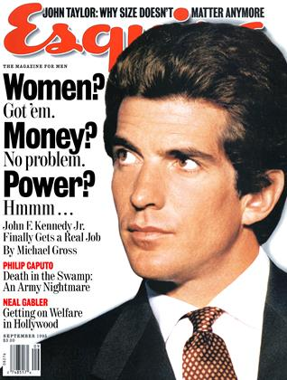 Cover for the September 1995 issue