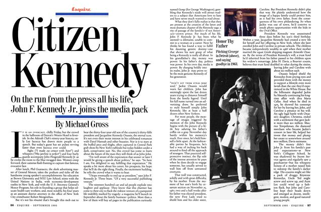 Article Preview: Citizen Kennedy, SEPTEMBER 1995 1995 | Esquire