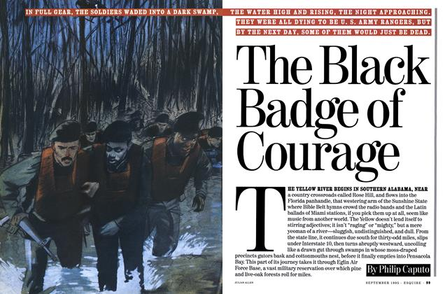 Article Preview: The Black Badge of Courage, September 1995 | Esquire