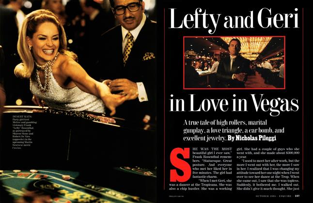 Lefty and Geri in Love in Vegas