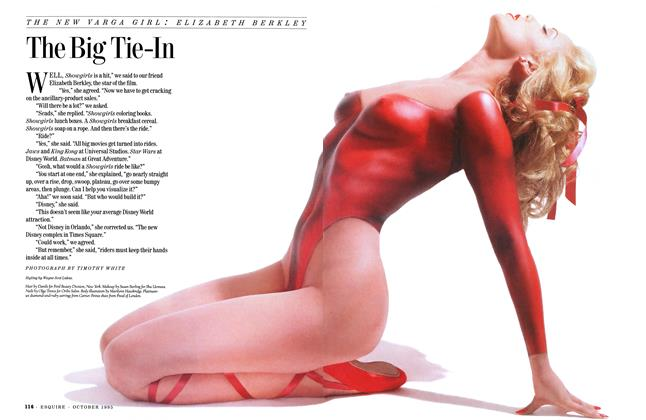Article Preview: The Big Tie-In, OCTOBER 1995 1995 | Esquire