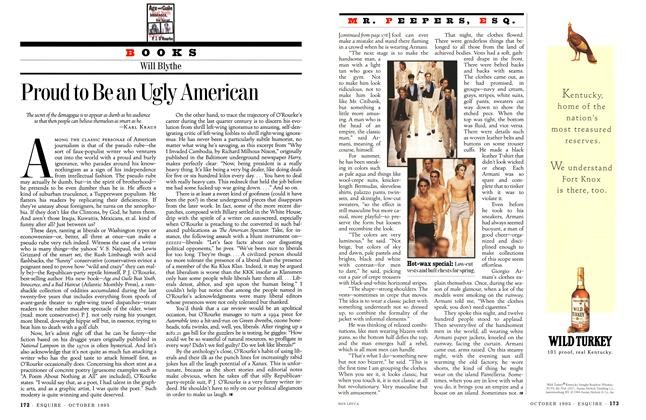 Article Preview: Armani Explains It All, October 1995 | Esquire