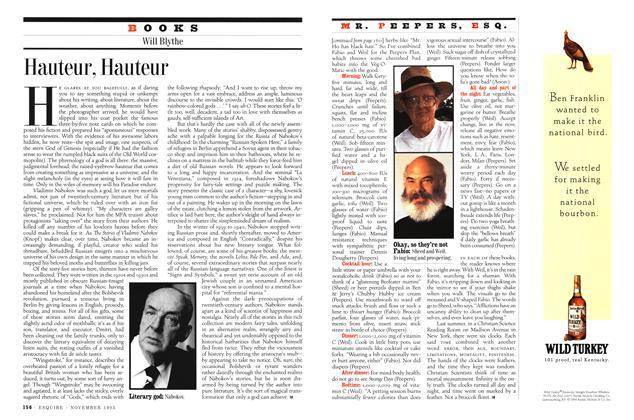 Article Preview: Broccoli=life, November 1995   Esquire