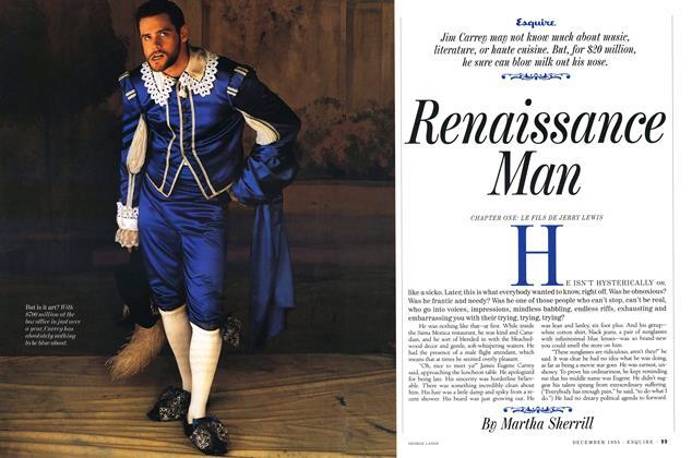 Article Preview: Renaissance Man, DECEMBER 1995 1995 | Esquire