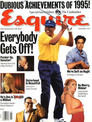 Cover for the January 1996 issue