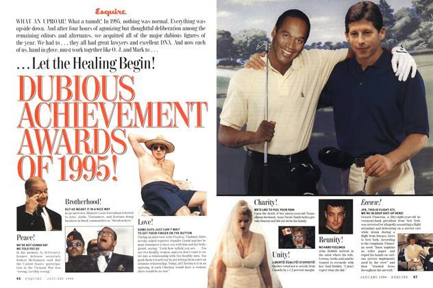Dubious Achievement Awards of 1995!