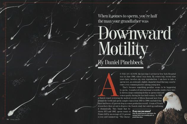 Downward Motility