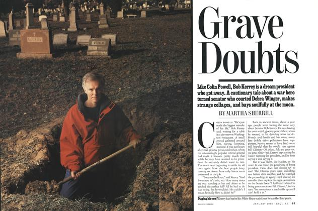 Article Preview: Grave Doubts, January 1996 | Esquire